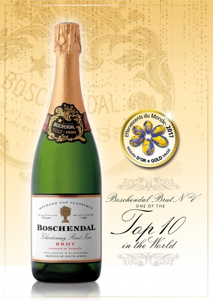 Boschendal bubbles one of top ten in the world